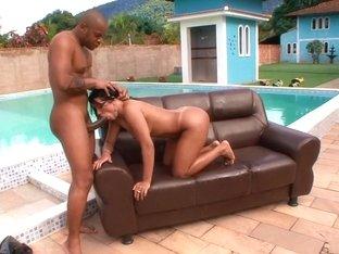 Exotic pornstar Agatha Moreno in crazy outdoor, brazilian porn scene