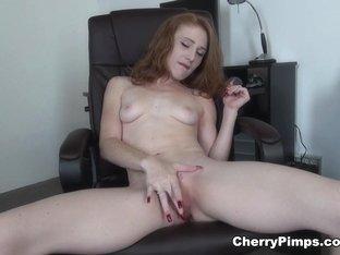 Exotic pornstar Lucy Fire in Best Solo Girl, Masturbation porn clip