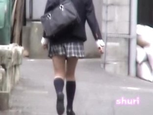 Japan sharking in the street free video