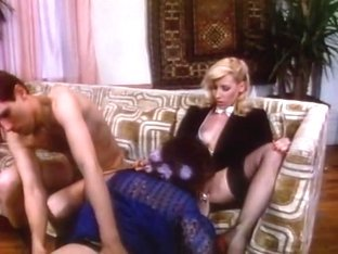 Crazy facial classic scene with Sharon Kane and Jacqueline Lorains