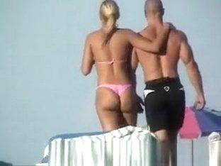 Hot ass blonde candid booty