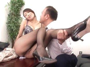 Amazing Japanese slut Reiko Kobayakawa in Crazy JAV censored Fetish, Hairy clip
