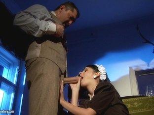 Horny pornstar in Amazing Brunette, College sex clip