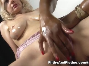 Exotic pornstar Busty Cookie in Incredible Lesbian, Interracial xxx video