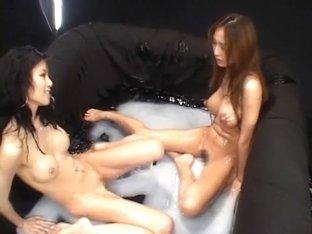 Horny Japanese chick Hitomi Mizutani, Akane Hotaru in Fabulous Squirting/Shiofuki, Dildos/Toys JAV.