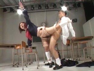 Exotic Japanese model in Best Fetish, BDSM JAV clip