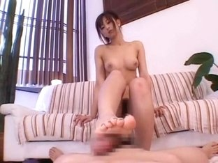 Incredible Japanese slut in Amazing Handjobs, Foot Job/Ashifechi JAV clip