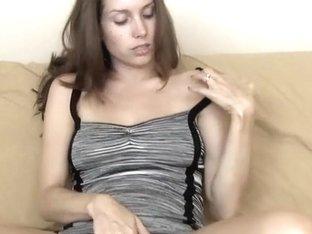 My lassie teasing in a hot dress