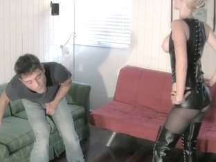 Bitch Goddess Busts Her Roommates Balls TEASING BALLBUSTING
