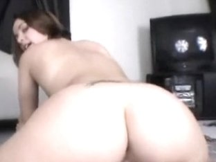 This wife has a ideal body but an even more excellent arse and knows how to ride strapon with it