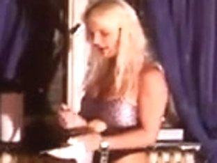Lisa Berlin trains a fresh 10-Pounder sucker for a Homo Club
