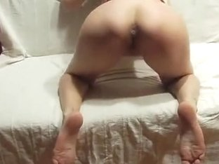This chick gets hard fucked on daybed