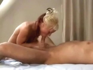 Insatiable blond showers and copulates