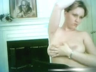 Bare Golden-Haired Rubbin & Playin With Her Brassiere Buddies - Part 3
