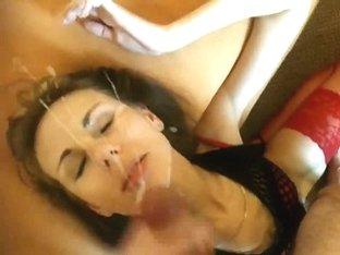 large cum spraying facual cumshots in compilation