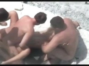 Couples Beach Voyeur