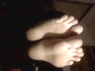 Hot porn video with real foot fetish