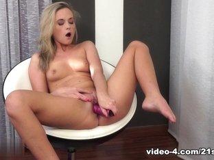 Fabulous pornstar in Crazy Blonde, Masturbation porn movie