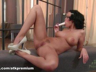 Exotic pornstar in Incredible Dildos/Toys, Masturbation porn scene