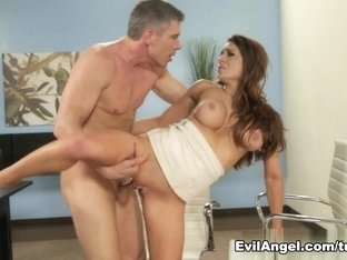 Horny pornstars Veronica Vain, Mick Blue in Crazy Cunnilingus, Big Tits xxx video