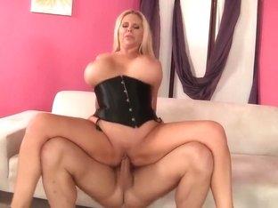 Best pornstar Karen Fisher in exotic facial, blonde adult scene