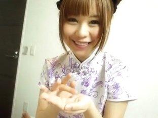 Best Japanese model Shizuka Hasegawa in Amazing Handjobs JAV scene