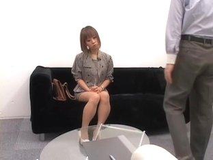 Skinny Jap gets pumped and creamed in voyeur sex video