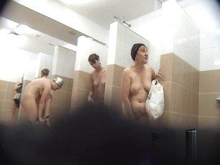 Hidden cameras in public pool showers 776