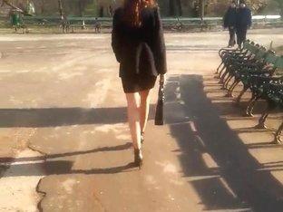 spy sexy teens skirt and feet romanian