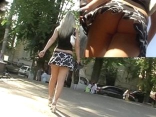 Bouncing petticoat up video
