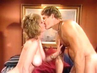 Randy West & Vintage Big Tit Blonde
