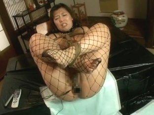 Crazy Japanese girl Reika Saijo, Anri Hoshizaki, Maki Mizusawa 2 in Amazing Stockings/Pansuto, Fin.