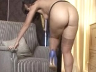 Aged Lady in Nylons