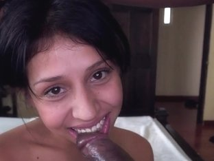 Long black cock for Yenny Contreras