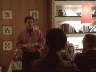 Cameron Cruz throws a party for porn stars