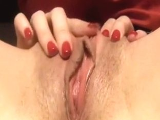 Naughty slippery pink fuck hole