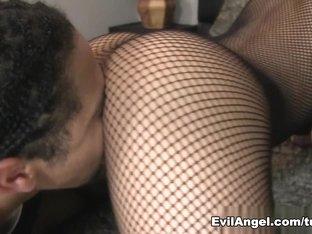 Exotic pornstar Cindy Starfall in Hottest Stockings, Cunnilingus xxx clip
