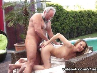 Hottest pornstars Albert, Diya Noir in Fabulous Outdoor, Redhead xxx scene