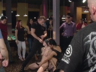 Lily LaBeau gets played in raunchy Pool Hall