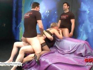 Horny pornstar in Incredible Bukkake, MILF xxx video