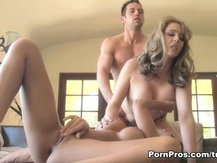 Incredible pornstar in Hottest Big Tits, Threesomes sex video