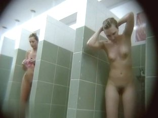Hidden cameras in public pool showers 937