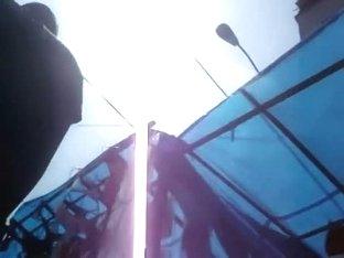 Upskirt voyeur video with an awesome ass