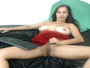 Woman Plays With Herself