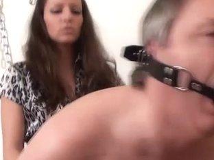 Larissa Gold in FunMovies video:Stapon Slave
