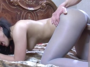 PantyhoseLine Video: April B and Clem