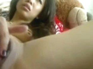 asian girl wet toying