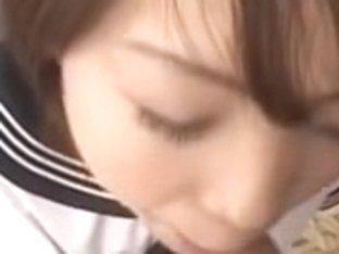 Oriental school angel receives wicked in the locker room