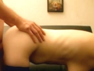 As man fucks, chick's ass bouncing back and forth