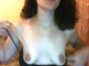 Playing with my mature tits